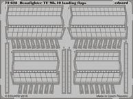 Beaufighter TF Mk.10 landing flaps 1/72