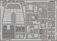 H8K2 エミリー 機首内装 1/72