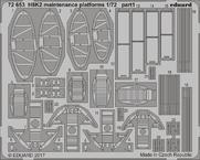 H8K2 整備用架台 1/72