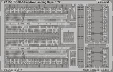 SB2C-5 ヘルダイバー ランディングフラップ 1/72