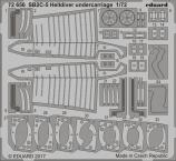 SB2C-5 ヘルダイバー 着陸装置 1/72