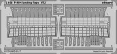 P-40N ランディングフラップ 1/72