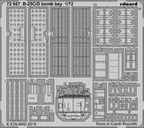 B-25C/D bomb bay 1/72