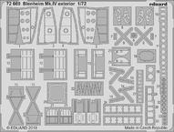 Blenheim Mk.IV exterior 1/72