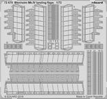 Blenheim Mk.IV закрылки 1/72