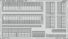 Wellington Mk.Ia/c vztlakové klapky 1/72