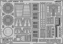 P-61C exteriér 1/72