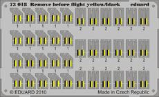 Remove Before Flight - yellow/black 1/72