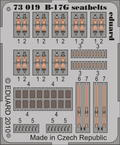 B-17 seatbelts 1/72