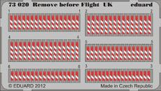 Remove before flight UK 1/72