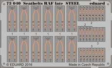 Seatbelts RAF late STEEL 1/72