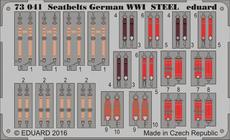 Seatbelts German WWI STEEL 1/72