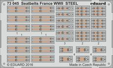 シートベルト フランス WWII スチール 1/72