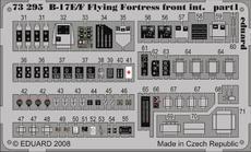 B-17E/F front interior S.A. 1/72