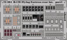 B-17E/F rear interior S.A. 1/72