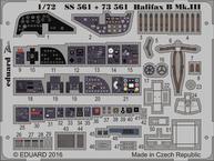 Halifax B Mk.III interiér 1/72