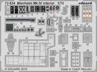 ブレニム Mk.IV 内装 1/72