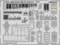Blenheim Mk.IV interior 1/72