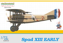 Spad XIII Early 1/72