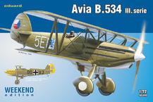 アヴィア B.534 IIIシリーズ 1/72