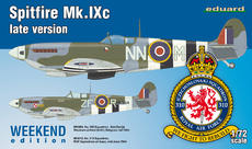Spitfire Mk.IXc pozdní verze 1/72