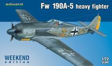 Fw 190A-5 тяжёлый истребитель 1/72