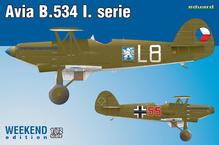 Avia B-534 I. série 1/72