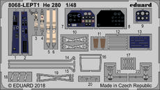 He 280 PE-set 1/48
