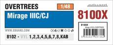 ミラージュ IIIC/CJ オーバーツリーズ 1/48
