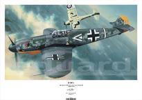 Плакат - Bf 109F-4