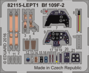 Bf 109F-2 エッチングパーツセット 1/48