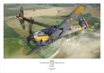 Плакат - Bf 109G-4