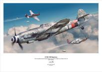 Плакат - Bf 109G-10