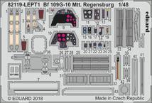 Bf 109G-10 Mtt Regensburg PE-set 1/48