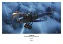 Plakát - SE.5a Night Fighter