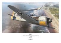 Плакат - Fw 190A-3