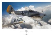 Плакат - Fw 190A-2