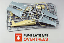 F6F-5 late OVERTREES  1/48 1/48