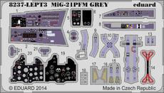MiG-21PFM エッチングパーツセット 灰色 1/48