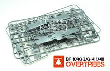 Bf 109G-2/G-4 OVERTREES  1/48 1/48