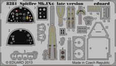 Spitfire Mk.IXc late version PE-set 1/48