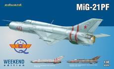 МиГ-21ПФ 1/48