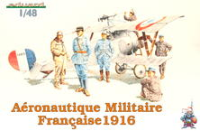 フランス空軍隊員 1916 1/48
