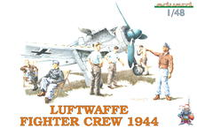 LUFTWAFFE FIGHTER CREW 1944 1/48