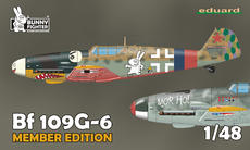 Bf 109G-6バニーレイサー+TシャツLサイズ 1/48