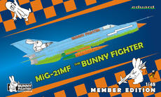 MiG-21MF Bunny Fighter Club + triko XXL 1/48