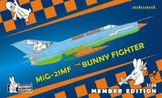 MiG-21MF Bunny Fighter Club + triko XXXL 1/48