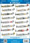 Bf 109G Royal decals 1/48
