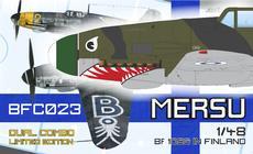 メルス/ Bf 109G フィンランド軍仕様 デュアルコンボ 1/48