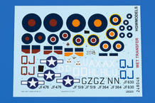 Spitfire HF Mk.VIII WET TRANSFER decals 1/48